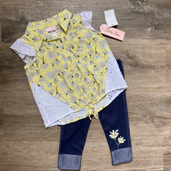 Little Lass Other - Two piece toddler outfit
